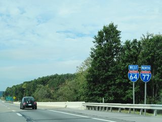 Interstate 64 West & 77 North - Beckley to Charleston - AARoads