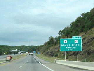 Interstate 64 West & 77 North - Beckley to Charleston