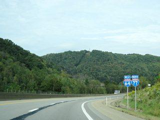 Interstate 64 West & 77 North - Beckley to Charleston - AARoads